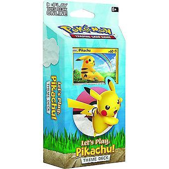 Pokemon TCG Let�s Play Pikachu/Eevee Theme Deck (Pack of 8)
