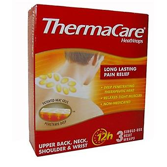 Thermacare Heat Wraps Upper Back, Neck, Shoulder & Wrist