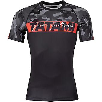 Tatami Fightwear Red Bar Camo Rashguard - Camo