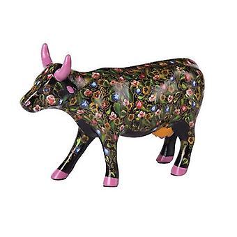Flower Power vaca desfile de vaca (media de cerámica)