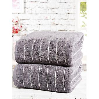 2-delige handdoek baal houtskool