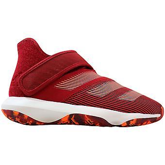 Adidas Harden B/E 3 J roșu/alb-portocaliu EF3602 grad-școală