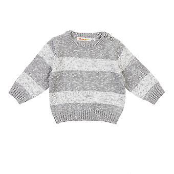 Babybol jongens winter trui grey