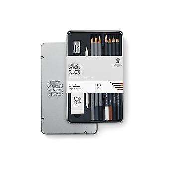 Winsor & Newton Studio Collection 10pc Sketching Set