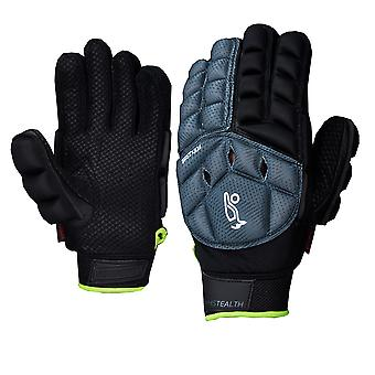 Kookaburra 2018 Team Stealth Field Hockey Hand Guard Glove Protection Grey