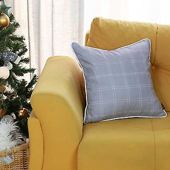 """18""""x18"""" Christmas Basic Square Printed Decorative Throw Pillow Cover"""