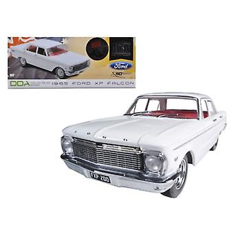 1965 Ford XP Falcon White 50th Anniversary Limited to 250pc mit Echtheitszertifikat & Mag Räder 1/18 Diecast Auto Modell von Greenlight