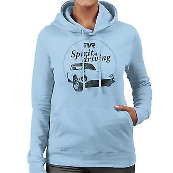 TVR Spirit Of Driving Women's Hooded Sweatshirt