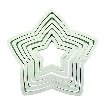 PME Star Cutter Set 6 Pieza