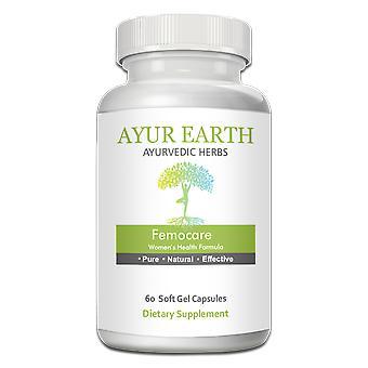 AYUR EARTH Femocare - Womens Health Formula Ayurvedic Supplement