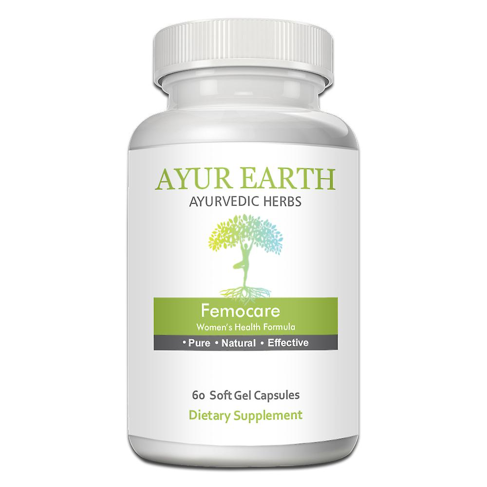 AYUR EARTH Femocare - Womens Health Formula Ayurvedic Supplement
