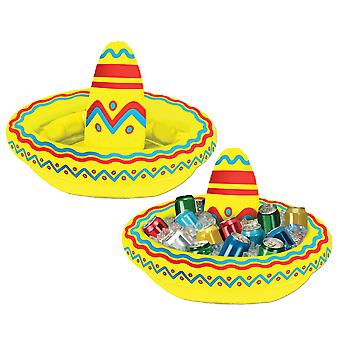 Sombrero Mexicain Western Beach Party Costume Bière gonflable Boissons Ice Cooler