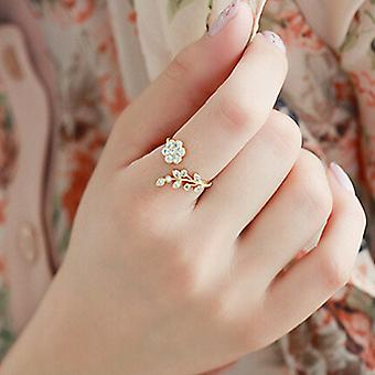 Adjustable Gold Fashion Ring