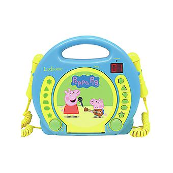Peppa Pig CD Player with Microphones