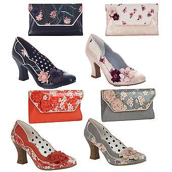 روبي شو المرأة & s فيولا المحكمة الأحذية ومطابقة حقيبة ديا