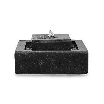Fountain Fountain Stufen Fountain FoScala darkgrey 48x48x23 cm 10874