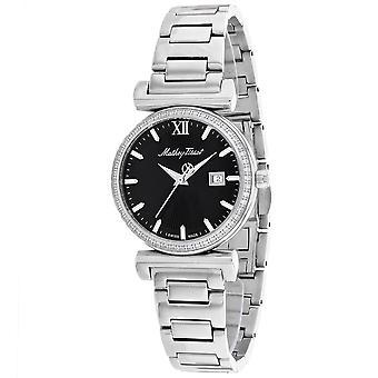 Mathey Tissot Women's Black Dial Watch - D410AQN