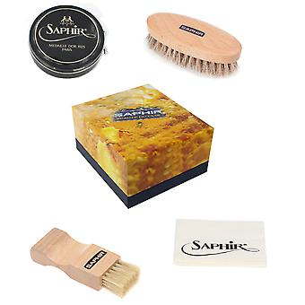 Saphir Luxury Shoe Care Gift Box Wax - Available in 11 colours