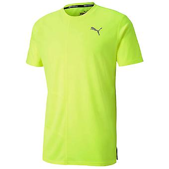 Puma Ignite Lyhythihaiset Miesten Juoksu Fitness Training T-paita Keltainen
