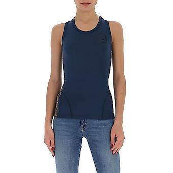 Fendi Faf093ab4af19ej Damen's Blau Polyester Top