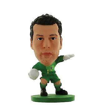 Soccerstarz Brazil Julio Cesar Home Kit