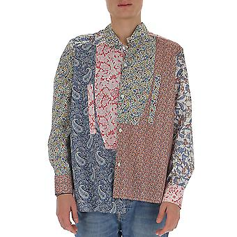 Loewe H2299780ga9990 Men's Multicolor Cotton Shirt
