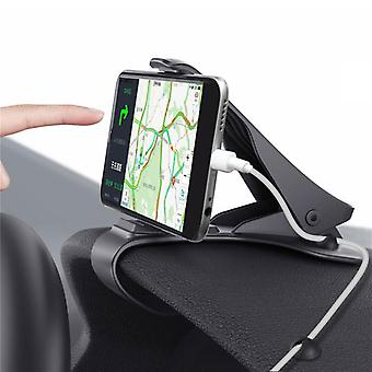 Bakeey™ upgraded cable management organizer anti-slip dashboard car mount phone holder for gps ipad