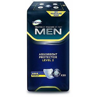 Tena Absorbent Protectors For Men Level 2 20 uds
