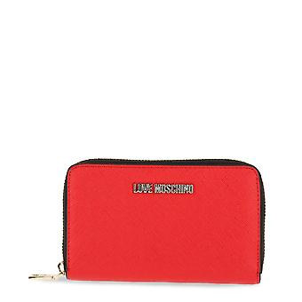 Love Moschino Original Women Fall/Winter Wallet - Red Color 32455