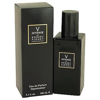 Robert Piguet V Intense (anciennement Visa) Eau De Parfum Spray Par Robert Piguet 3,4 oz Eau De Parfum Spray
