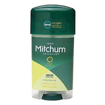 Mitchum for men anti-perspirant & deodorant, mountain air, 2.25 oz