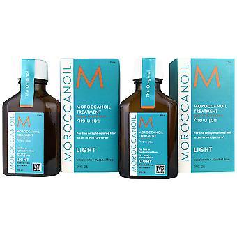 Moroccanoil behandeling licht 0,85 oz 2 - pack