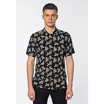 Merc CARLISLE, Men's Short Sleeve Palm Print Shirt
