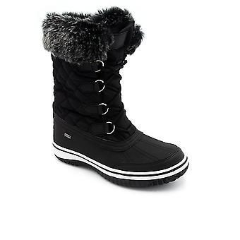 Padders Glaze Womens Waterproof Calf Length Boots