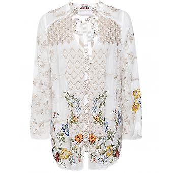 Johnny Was Luca Floral Blouse