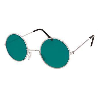 60s singer Glasses.Green Lens/Gold Frame