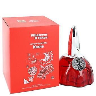 Whatever it takes kesha eau de parfum spray by whatever it takes 546185 100 ml