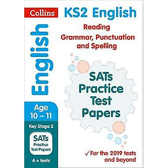 New KS2 SATs English Reading - Grammar - Punctuation and Spelling Pra