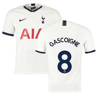 2019-2020 توتنهام هوم نايكي قميص كرة القدم (أطفال) (GASCOIGNE 8)