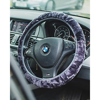 Nordvek Luxury Natural Sheepskin Steering Wheel Cover - Universal Fitting # 108-100