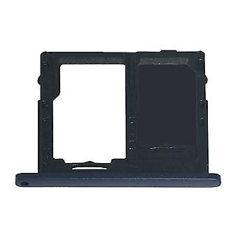 Kortskuff SIM-Kortholder for Samsung Galaxy Tab en 10,5 T590 T595 blå mørk blå reparasjon reservedel