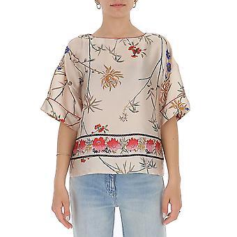 Semi-couture S0st02stp14 Women's Multicolor Polyester Blouse