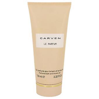 Carven Le Parfum Shower Gel By Carven 3.3 oz Shower Gel