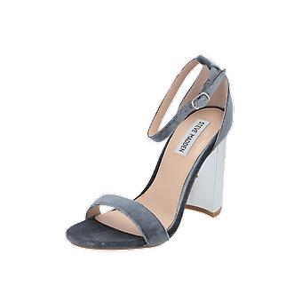 ستيف مادن CARRSONV الصنادل النسائية رمادي الوجه يتخبط أحذية الصيف