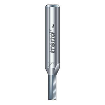 Trend - 3/06X1/4TC - Two flute cutter 2 mm diameter