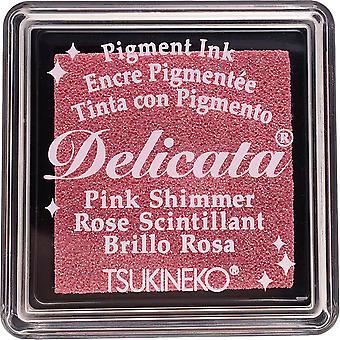 Delicata pieni pigmentti muste pad-vaaleanpunainen hohde