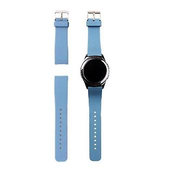 Replacement Wristband Bracelet Band Strap for Samsung Gear S2 BSM-R720[Blue]