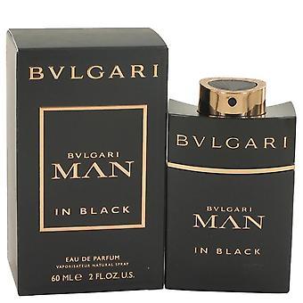 Bvlgari homem em preto Eau De Parfum Spray por Bvlgari 2 oz Eau De Parfum Spray