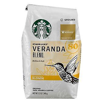 Starbucks Coffee Blonde Roast Veranda Blend Ground Coffee