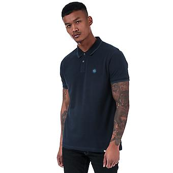 Heren's Pretty Green Barton Polo Shirt in Blauw